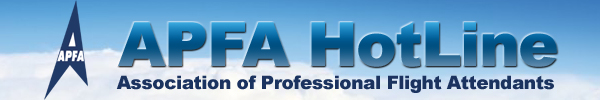 APFA Hotline - Association of Professional Flight Attendants