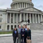 Kim Tuck and Allie Malis lobbying for PBGC protections