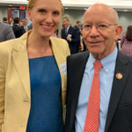 Allie Malis, APFA Government Affairs Chair, with Chairman Peter DeFazio and Chairman Rick Larsen