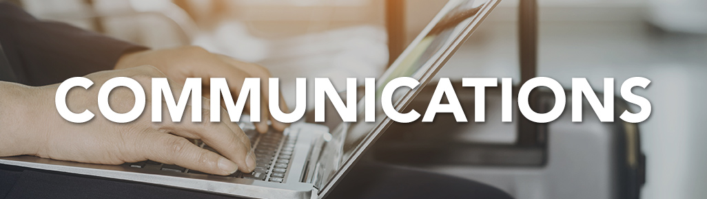 Communications Department page